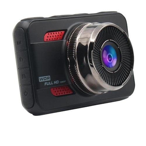 K107 DUAL CAR CAMERA 1080P HD 3.0 LCD DASH CAM