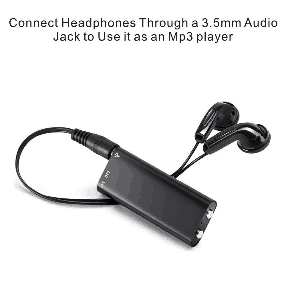 Spy MT-60 Voice Recorder 8gb Digital Audio Dictaphone Mini Mp3