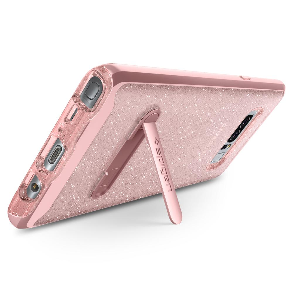 Every Need Want Day Spigen Crystal Hybrid Case For Galaxy Note 8 Glitter Water Mark Free Tpu Magnetic Metal Kickstand