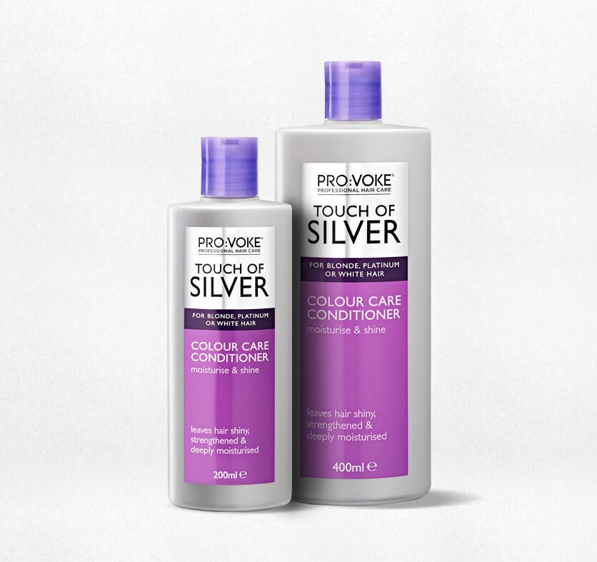 ProVoke Touch Of Silver Brightening Shampoo Silver Conditioner Colour Care  Shampoo 890acad4f740
