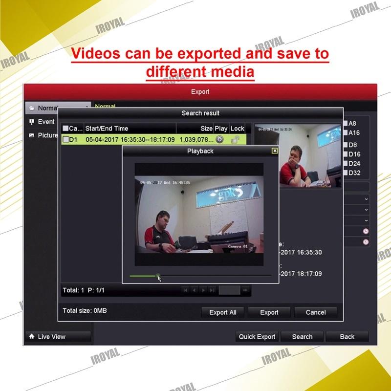 Vstarcam HD CCTV Camera Solution – 3 CAM