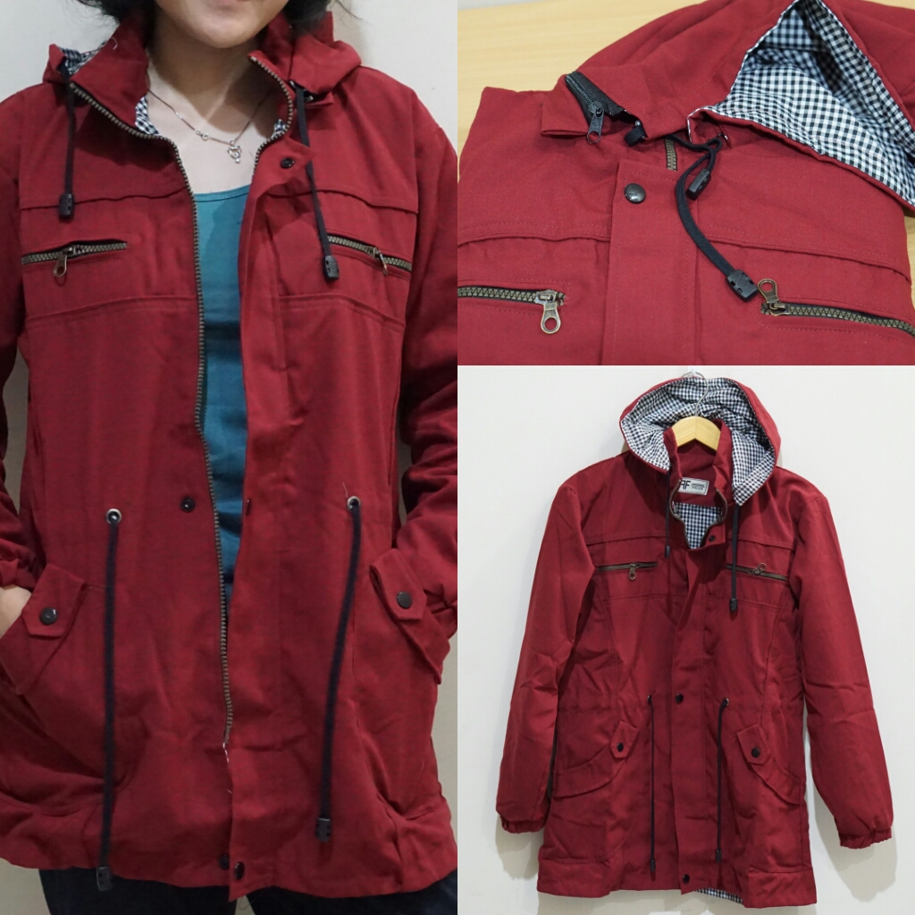 Buy Best Sellers Free Shipping Jabodetabek Deals For Only Jaket Parka Cewek Seller Rp295000 Instead Of