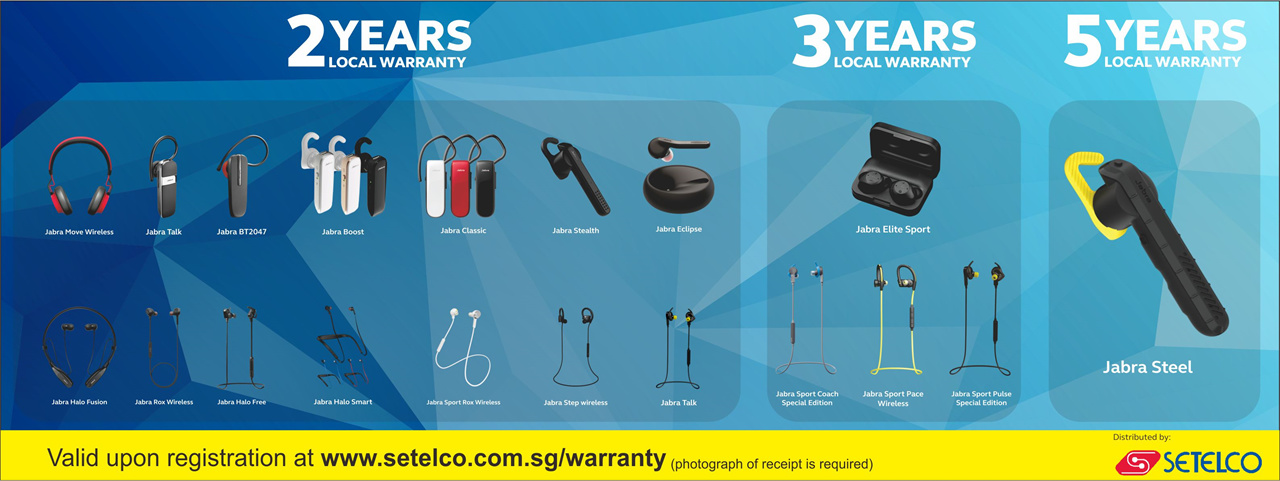 db6a04a8915 Jabra Bluetooth Headset BT2046 EU / BT2047 / Singapore Seller / 2 Years  Warranty by Jabra Singapore