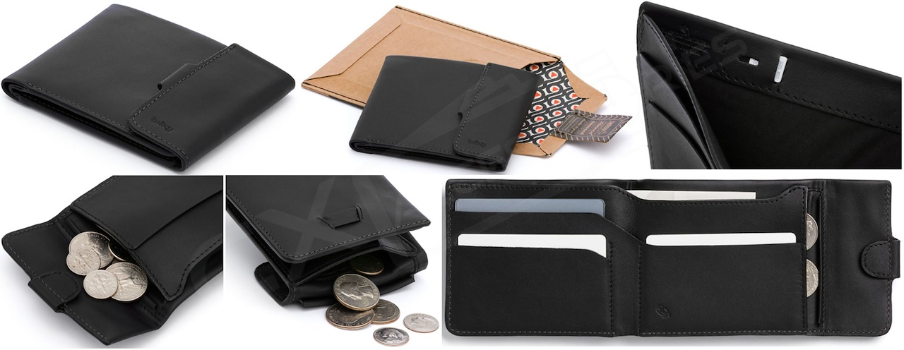 7cfda2a546 [Authentic] Bellroy Coin Fold Hi Wallet