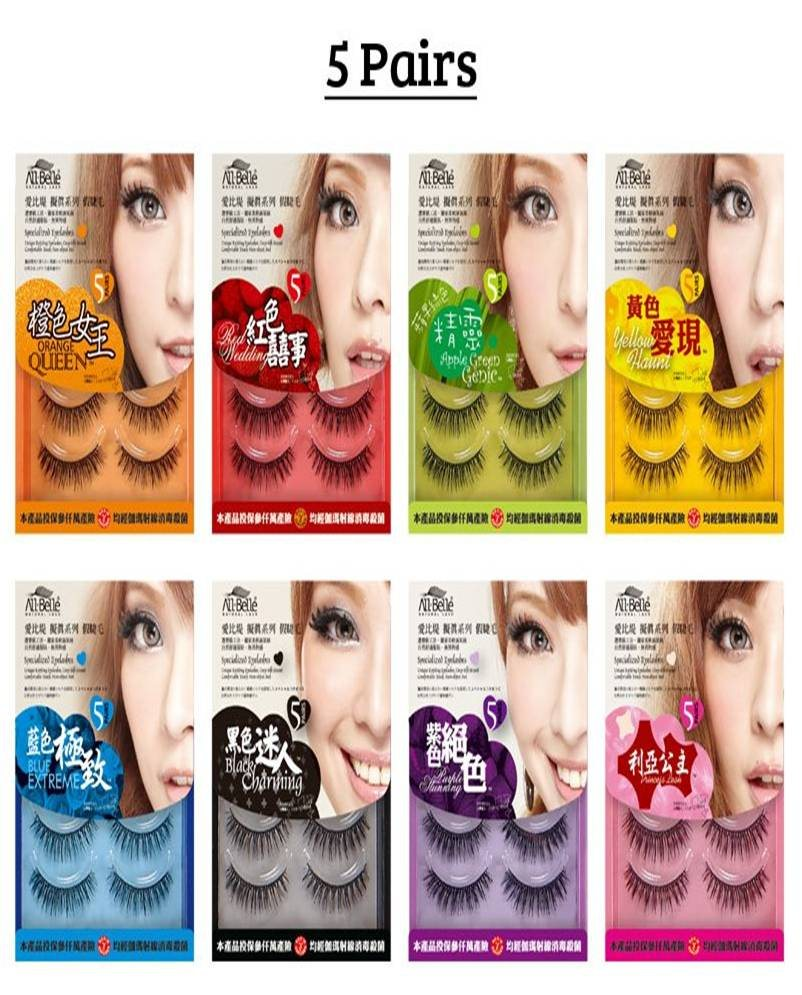 24992458d28 All Belle eyelashes are made in Taiwan, which explains why the local labour  cost is