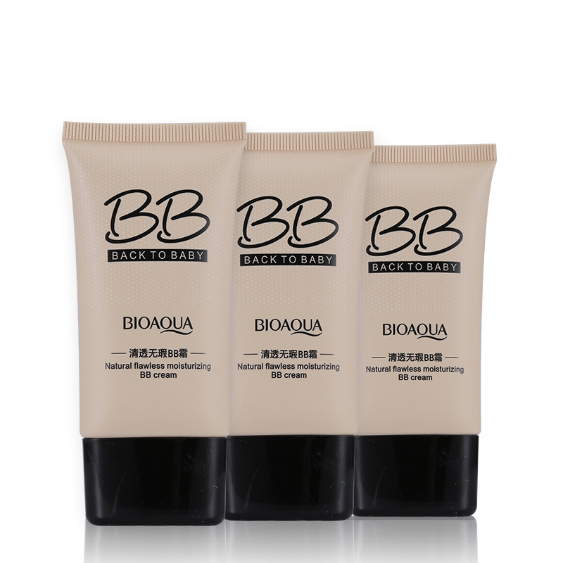 Package Contents: 1 x BIOAQUA Natural Flawless Moisturizing BB Cream 40g(3 colors can choose)