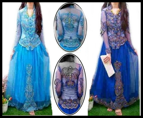 Maxi dress kebaya ramashinta