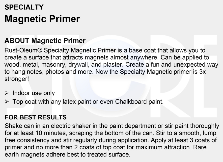 4dfb6d07d3f Specialty Magnetic Primer Technical Data Sheet