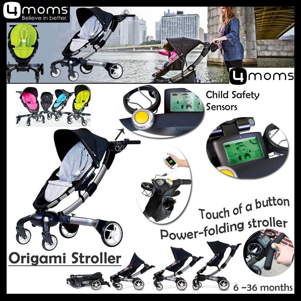 4moms Origami Stroller Silver - GetdatGadget | 1000x1000
