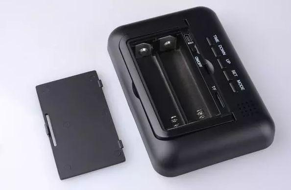 Remote Control Clock Hidden Camera Multi-Function