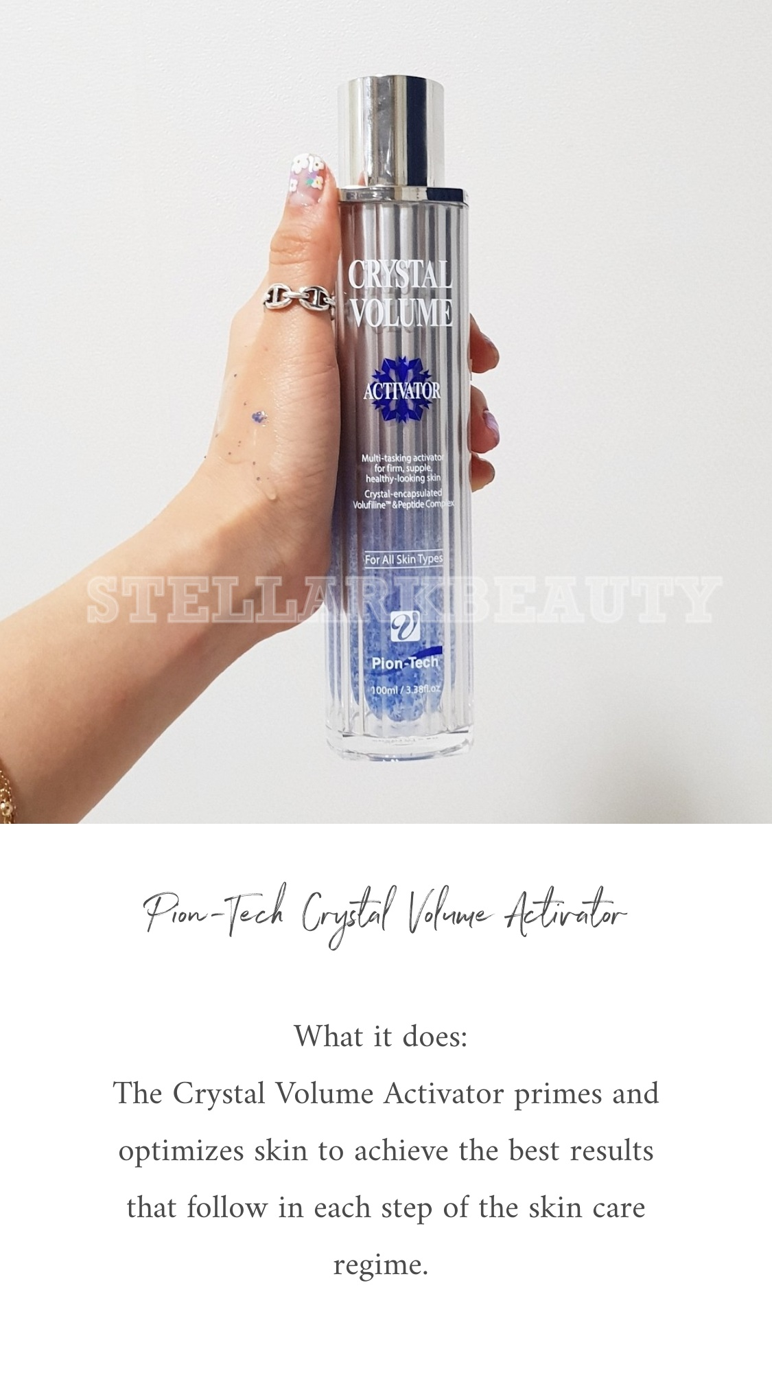 What it does - Crystal Volume Activator