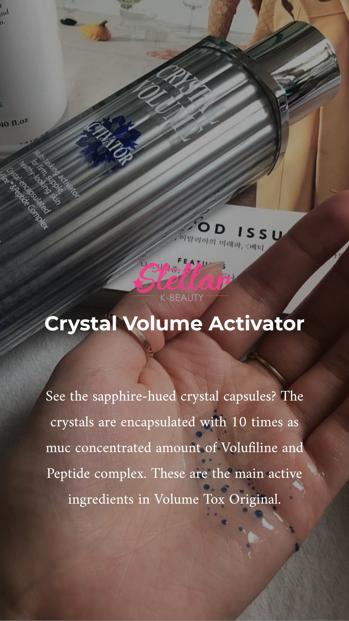 Crystal Volume Activator - Korean Beauty Products