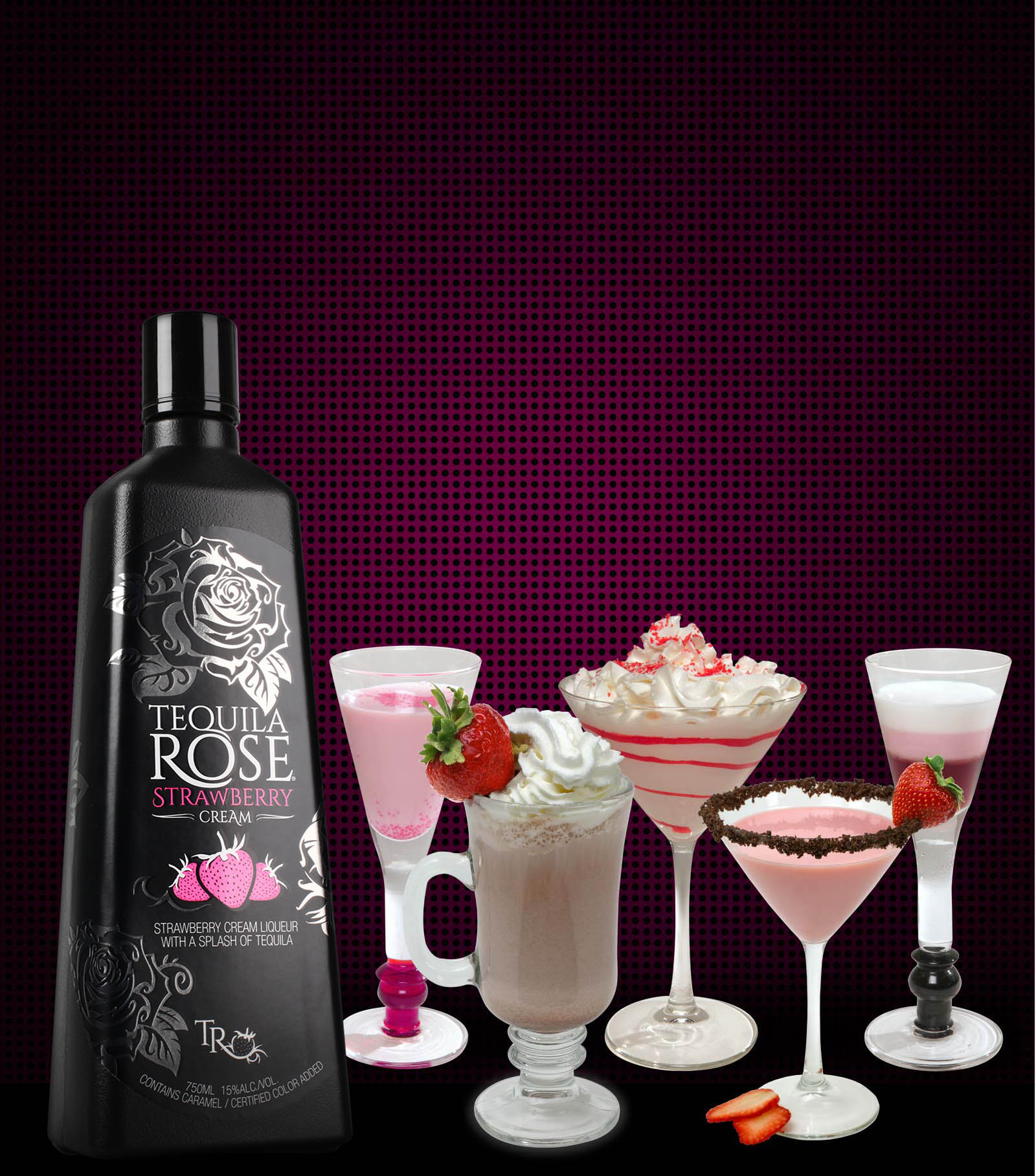 Mixed drink recipes with tequila rose besto blog for Best tequila shot recipes