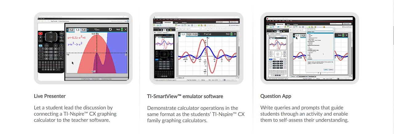 Texas Instrument TI-Nspire™ CX II Graphing Calculator