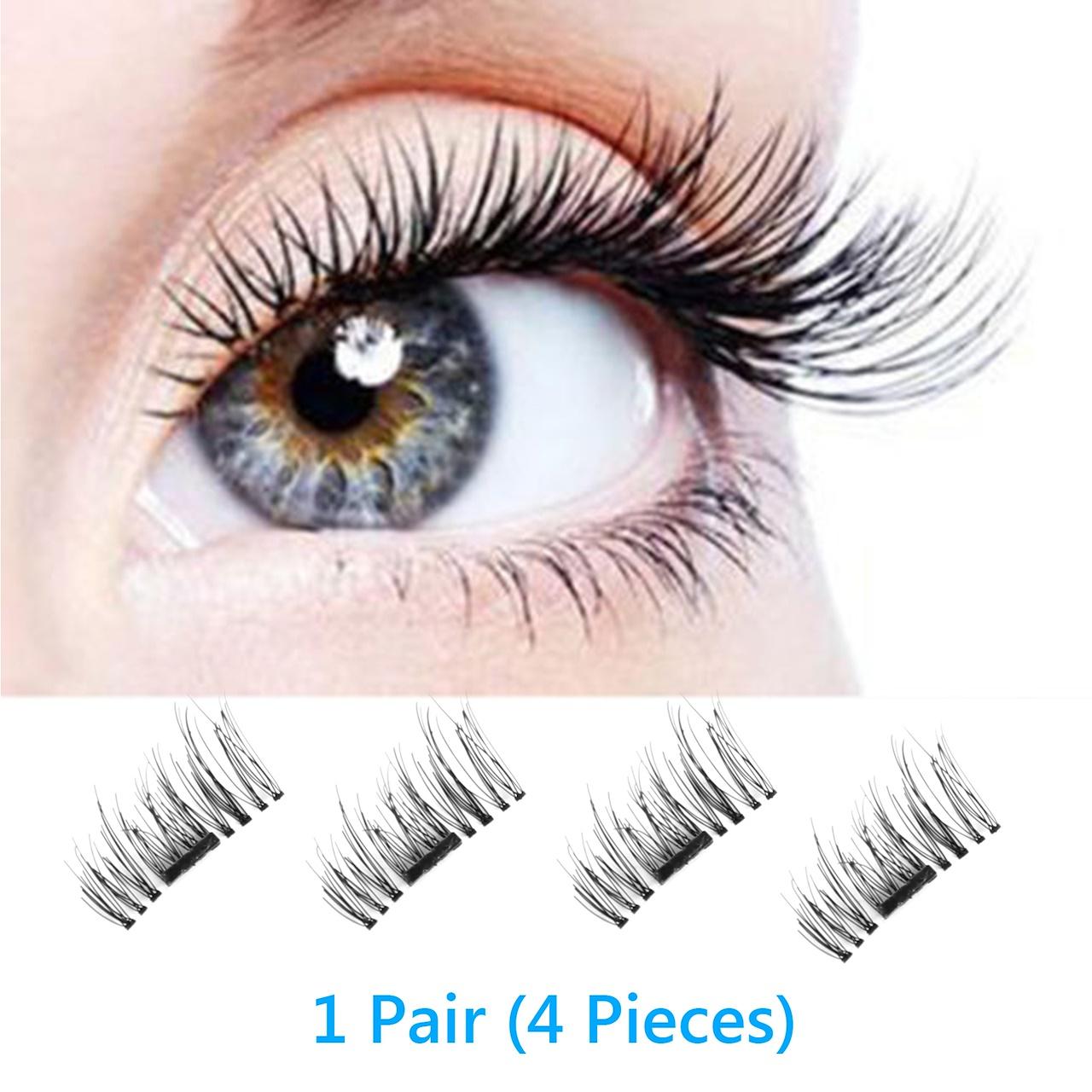 c4b549bbc7c ... Eye Lash Reusable. Magnetic EyeLashes False (Single/Double/Three) Typt  AA-Single Magnet