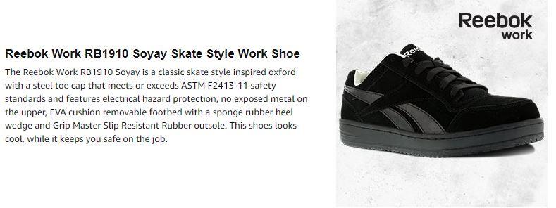 996d0021e5ef73 Publisher   Reebok Work Footwear -. Studio   Reebok Work Footwear -. Title    Reebok Men s Soyay RB1910 Safety Shoe