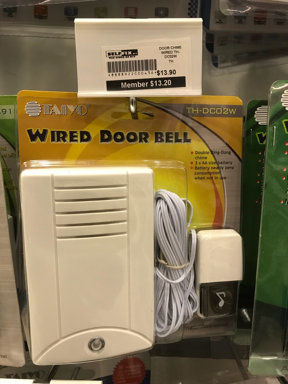 Every Need Want Day Rewiring Old Doorbell Taiyo Wired Door Chime Th Dc02w1390