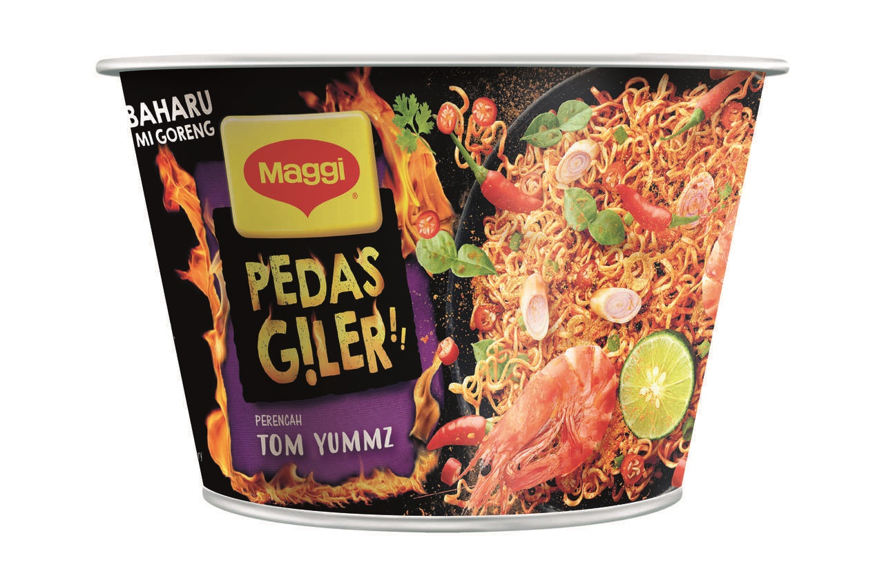 Image result for maggi goreng pedas giler tom yummz
