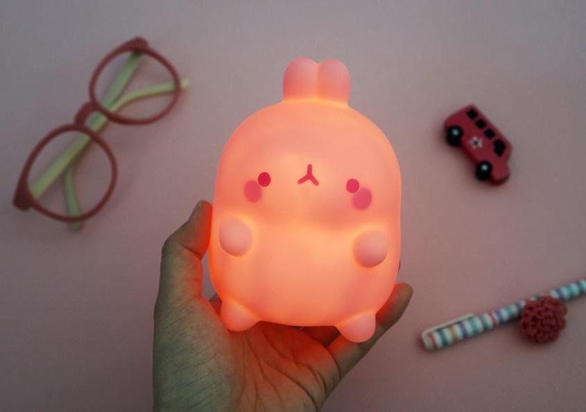 MOLANG LED MOOD PINK LAMP NEW MOLANG #SHOP