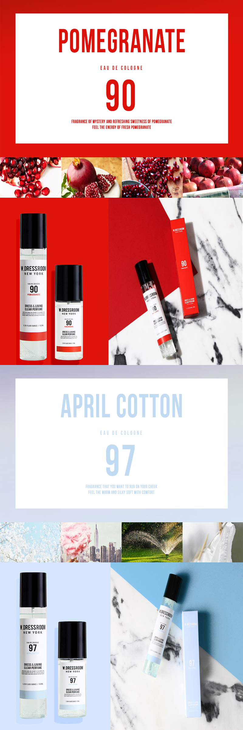 Wdressroom Dress Living Clear Perfume 70mlno 97 April Cotton W Dressroom New York Drees 70ml Keep Away From High And Low Temperature Direct Sunlight
