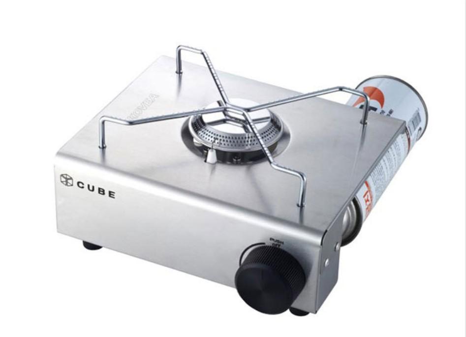 KOVEA CUBE Stainless Mini GAS Stove KS8GS0402 OUTDOOR/INDOOR