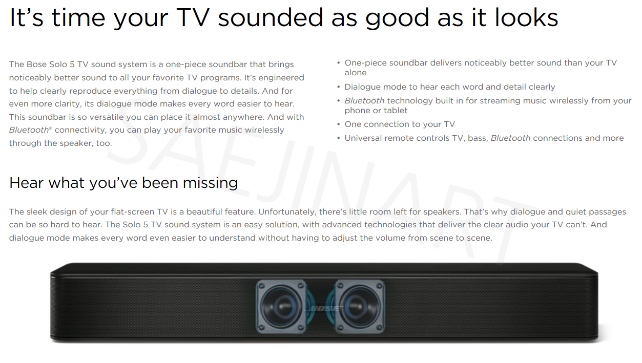 Every Need Want Day Bose Solo 5 Tv Sound System Try Watching This Video On Youtubecom Or Enable Javascript If It Is Disabled In Your Browser