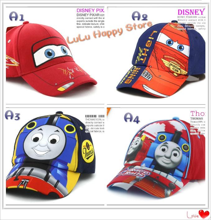 cdf922d3375  Lulu Happy Store  Kids Boys Girls Cartoon Caps Hats over 30 designs no  hidden cost