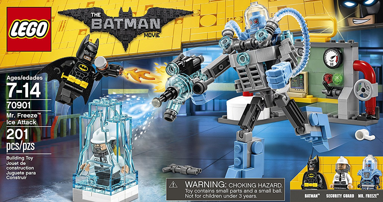 LEGO New Batman Movie Security Guard Fire Helmet Minifigure