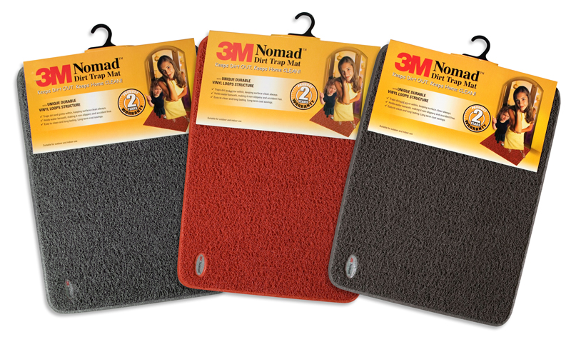 3m Nomad Dirt Trap Mat 24x36 Inch With Emboss Edge Selffix