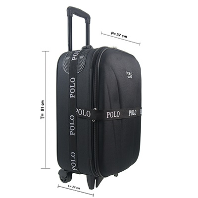 POLO CLASSIC 5370 20' BLACK Material : POLYSTER EXPENDING uk. 37x22x51cm