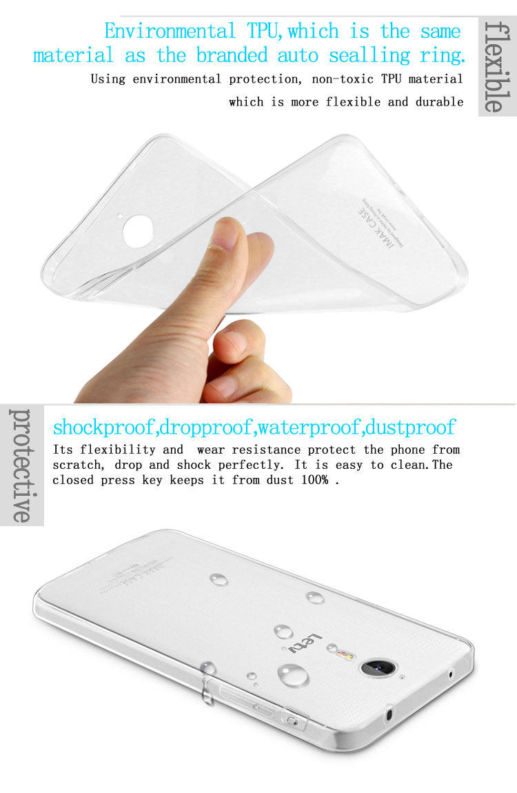 Zscool Stuffs Store Imak Crystal Case 1st Series Sony Xperia M4 Aqua Hardcase Transparant Soft Tpu Transparent Stealth For Letv One S1 New Good