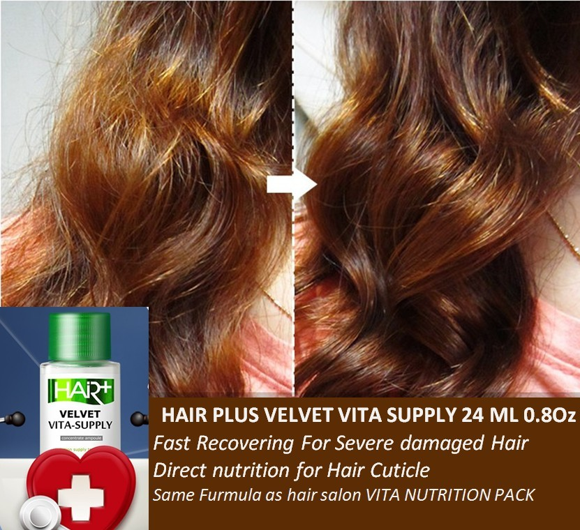 Hair Velvet Vita Supply 24 Ml 08 Oz Concentrate Ampoule For