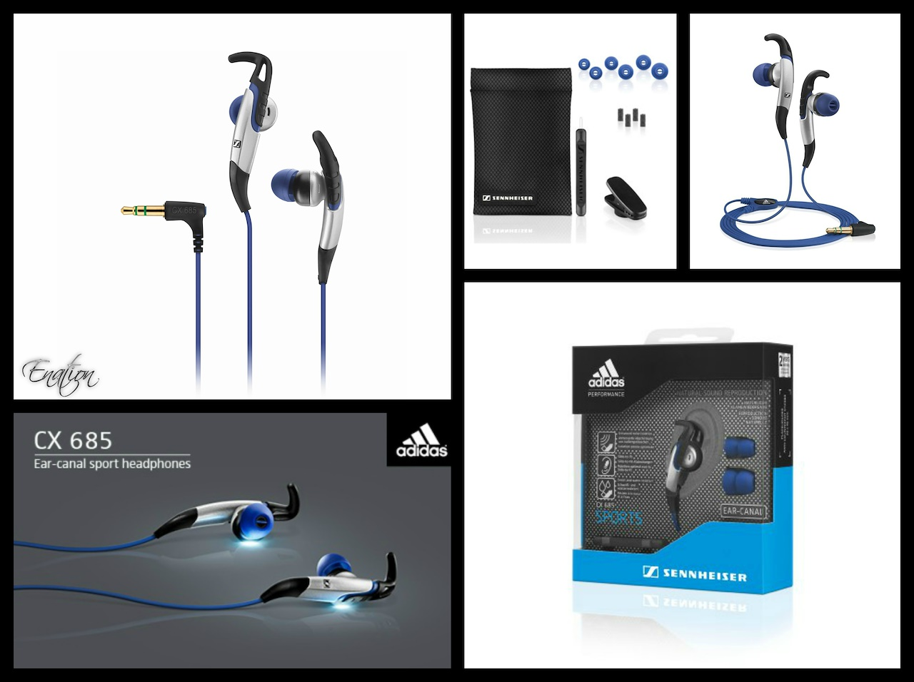 Every Need Want Day Earphone Sennheiser Cx Sport Adidas 685 G