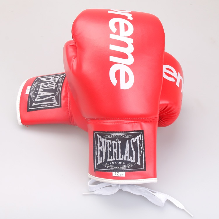 ce67a368 Brand New Supreme Everlast Boxing Gloves (1 Pair). PU Leather. Local SG  Stock and warranty !!