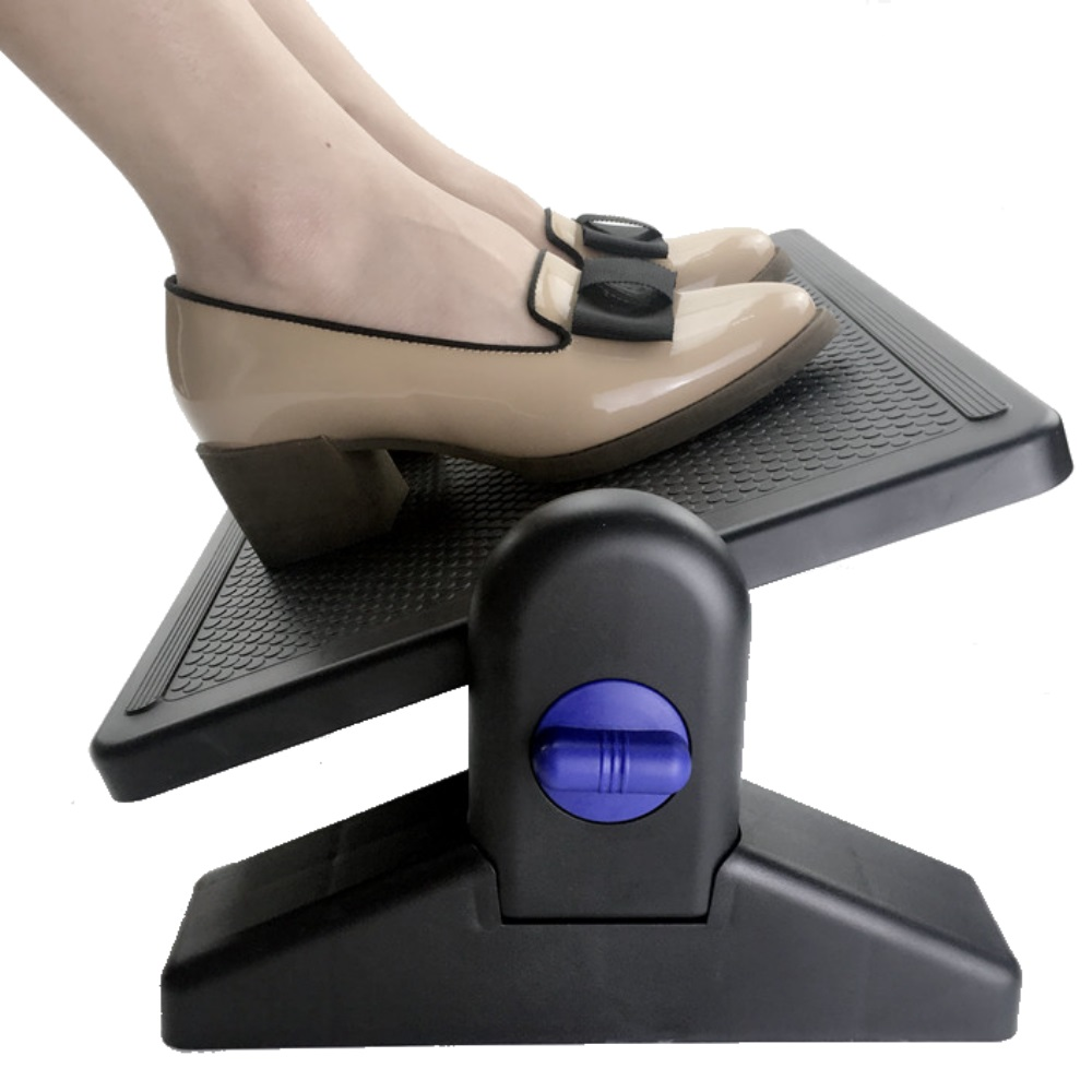 desk footform footrest from posturite for adjustable dual