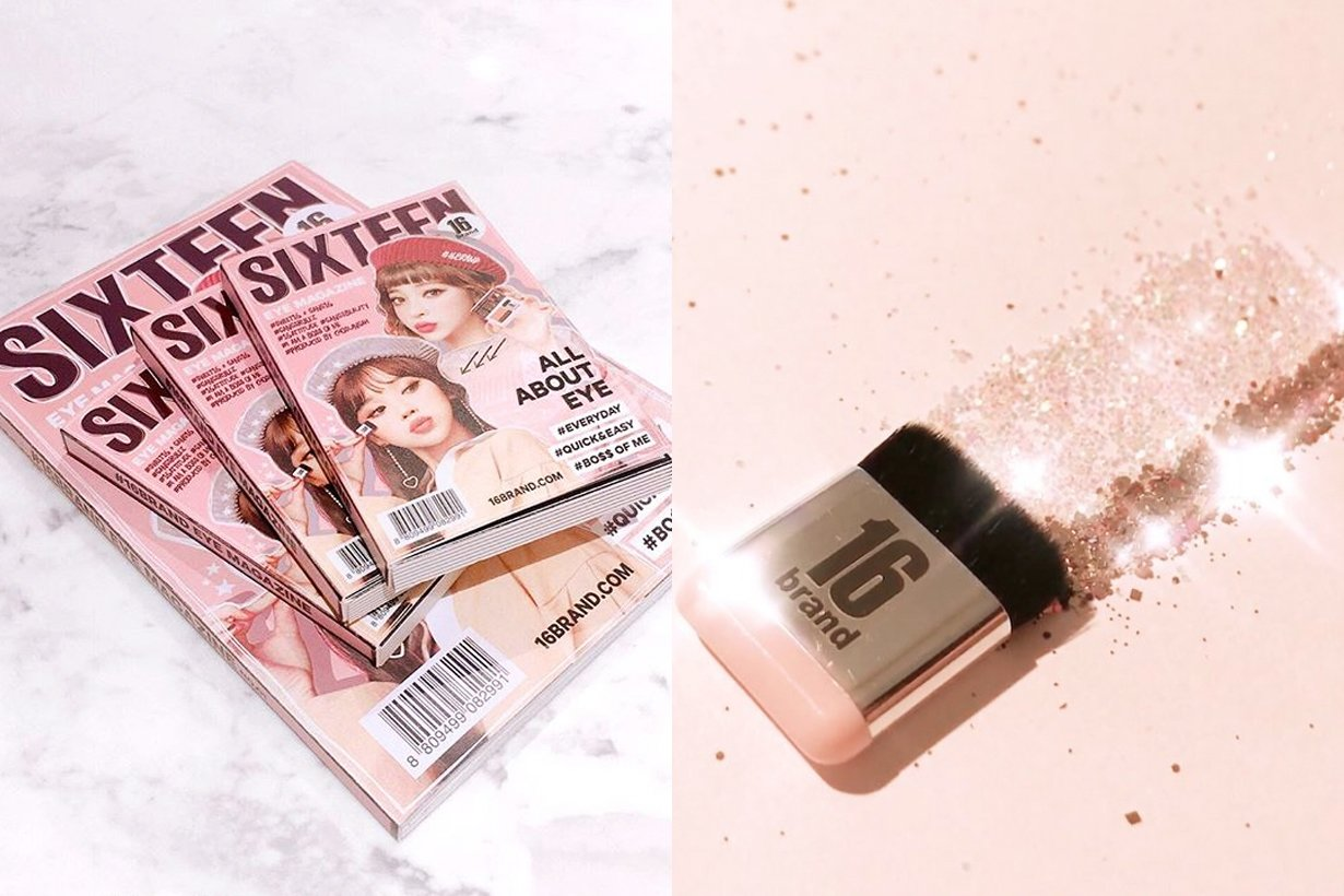 16brand Eye Magazine Eyeshadow Swanheartx Sixteen Shadow 16 Brand Makeup Is Going To Get A Whole Lot Easier With 16brands