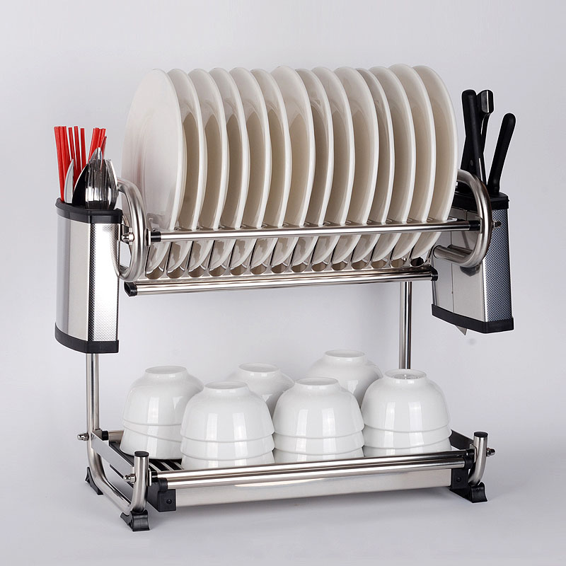 Stainless Steel 2 Dish Rack (FREE DELIVERY) & Stainless Steel 2 Dish Rack (FREE DELIVERY) \u2013 JRKreation
