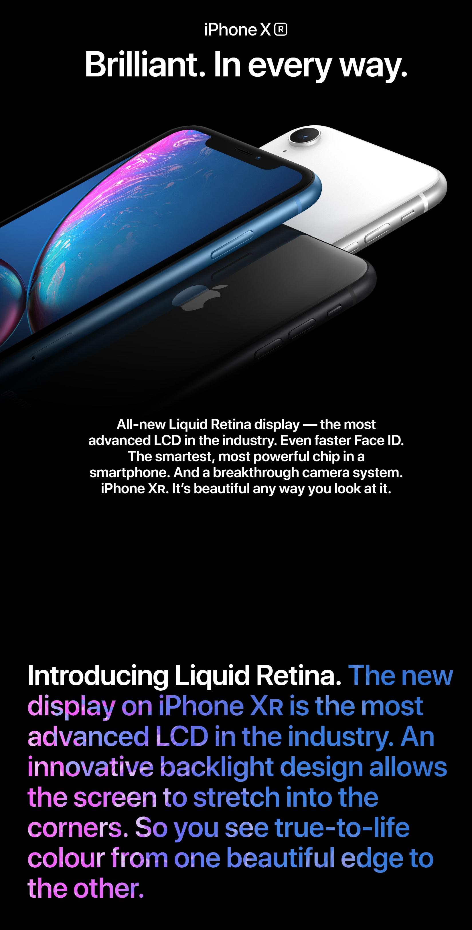 Apple iPhone XR Dual Sim 64GB/ 128GB/ 256GB LTE Dual NANO Sim   PrestoMall  - APPLE